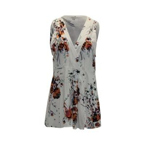 Free People Back To Basics Floral Print Wrap Tunic